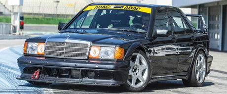 Mercedes a construit un 190E 2.5 Evo II de la zero. Insa nu l-a pus intr-un muzeu, ci l-a scos pe circuit