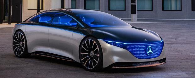 Mercedes a gasit ac de cojocul Tesla. Anuntul facut cu putin timp in urma