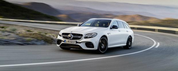 Mercedes a lansat pe piata break-ul care face drifturi la comanda