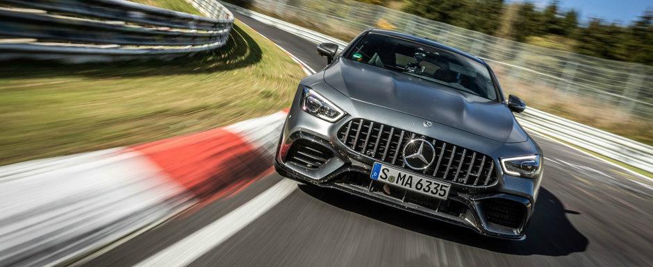 Mercedes a mers pe Nurburgring cu un singur scop: sa bata Porsche Panamera. Si a reusit