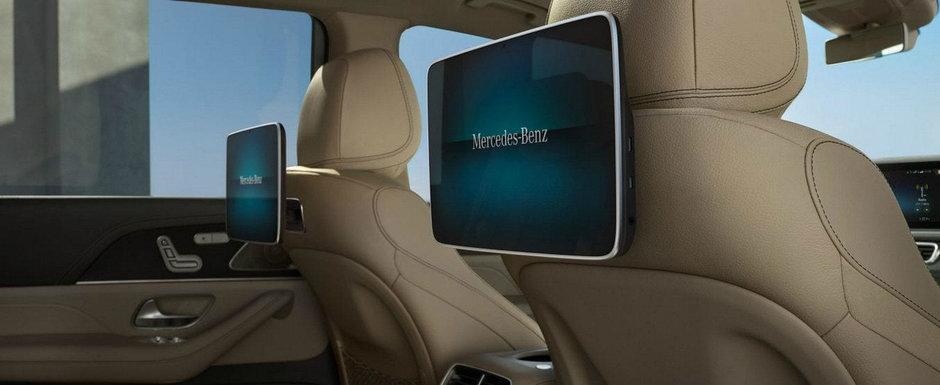 Mercedes a pierdut complet controlul: noi imagini cu rivalul lui BMW X7 au ajuns pe internet