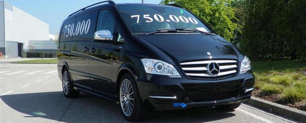 Mercedes a produs modelul Viano cu numarul 750.000