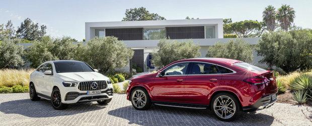 Mercedes a publicat acum primele imagini si detalii oficiale. Acesta este noul GLE Coupe!