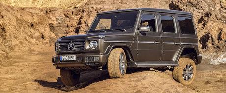 Mercedes a publicat astazi TOATE POZELE oficiale. Noul G-Class arata EXACT cum te-ai fi asteptat
