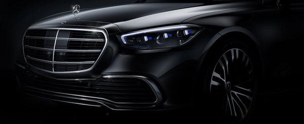 Mercedes a publicat, in sfarsit, prima fotografie oficiala a noului S-Class