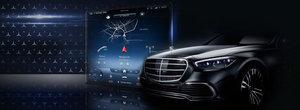 Mercedes a publicat o noua fotografie oficiala a viitorului S-Class