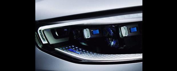 Mercedes a publicat ultimele fotografii oficiale cu noul S-Class inaintea lansarii de maine