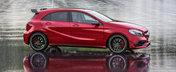 Mercedes A45 primeste 381 CP si redevine cel mai puternic hot-hatch al planetei