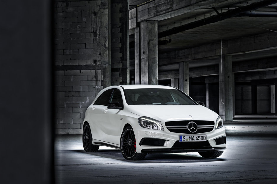 Mercedes A45 AMG - Galerie Foto
