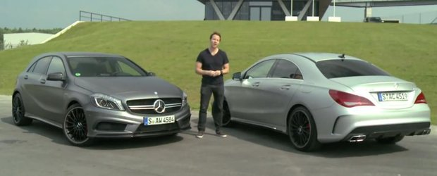 Mercedes A45 AMG vs. CLA 45 AMG