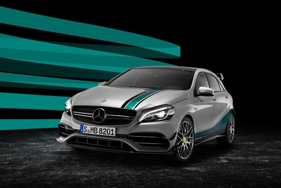 Mercedes A45 AMG World Champion Edition