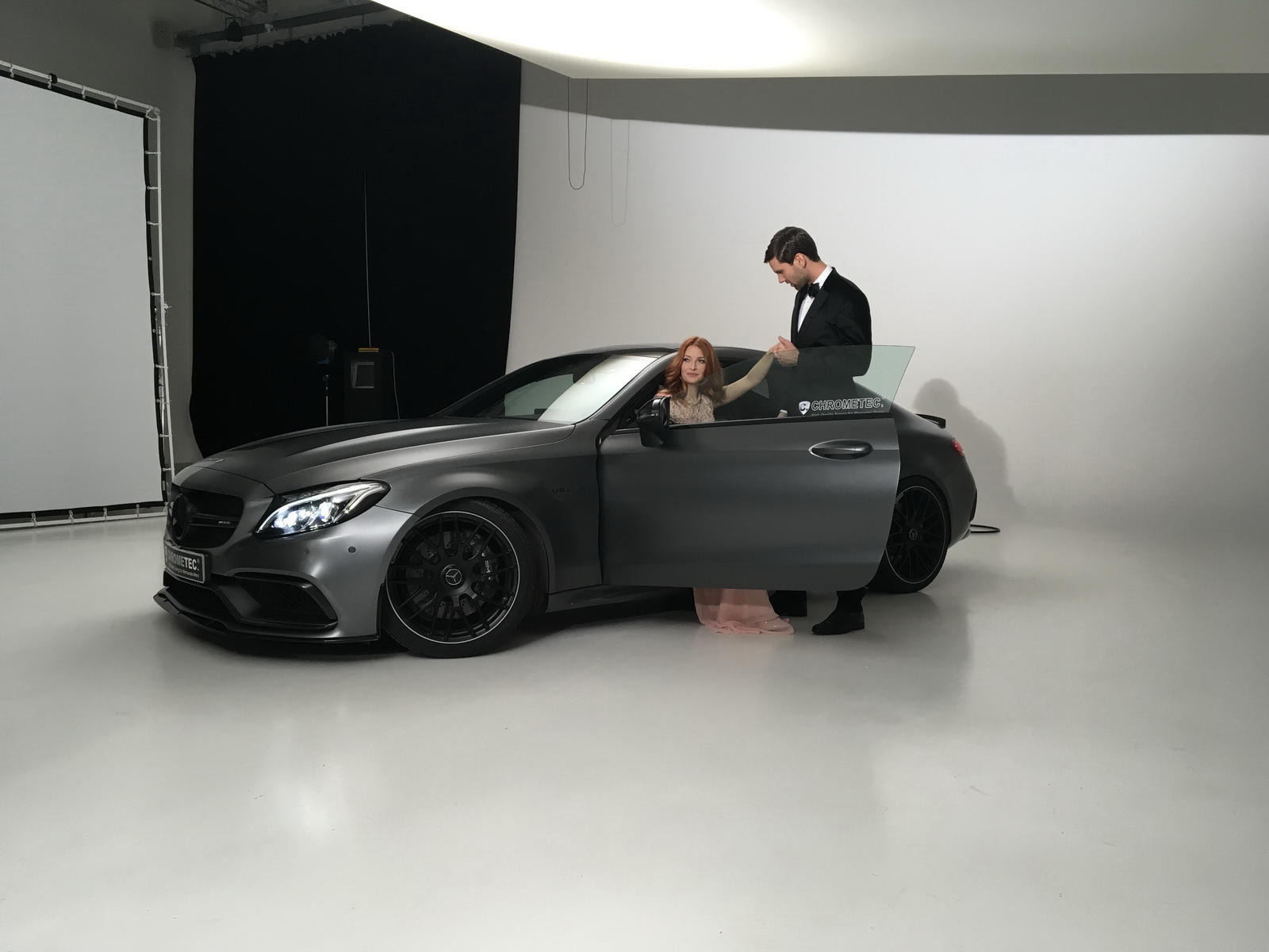 Mercedes-AMG C63 by Chrometec - Mercedes-AMG C63 by Chrometec
