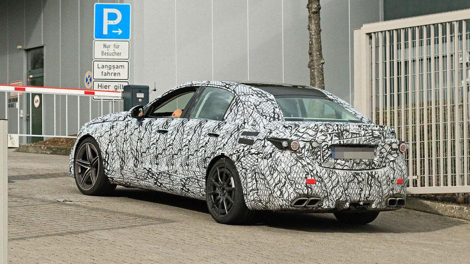 Mercedes-AMG C63 - Poze spion