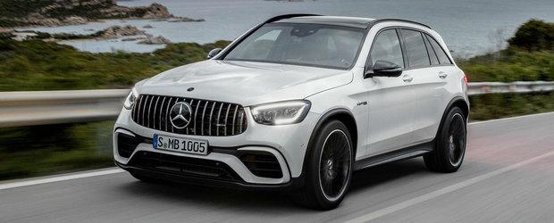 Mercedes-AMG GLC63 facelift este aici. Imbunatatiri pentru cel mai rapid SUV de pe Nuburgring