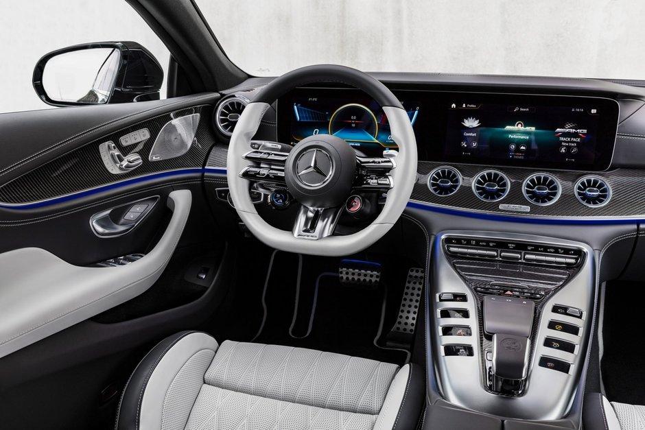 Mercedes-AMG GT 4-Door Coupe Facelift