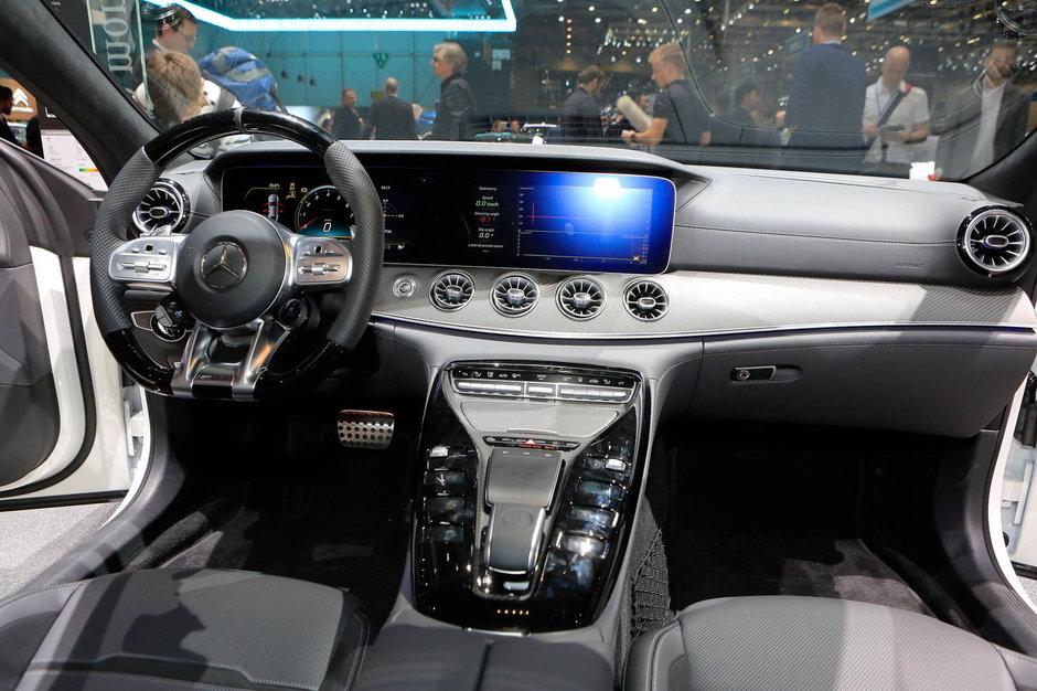Mercedes AMG GT 4-Door Coupe - Poze de la Geneva