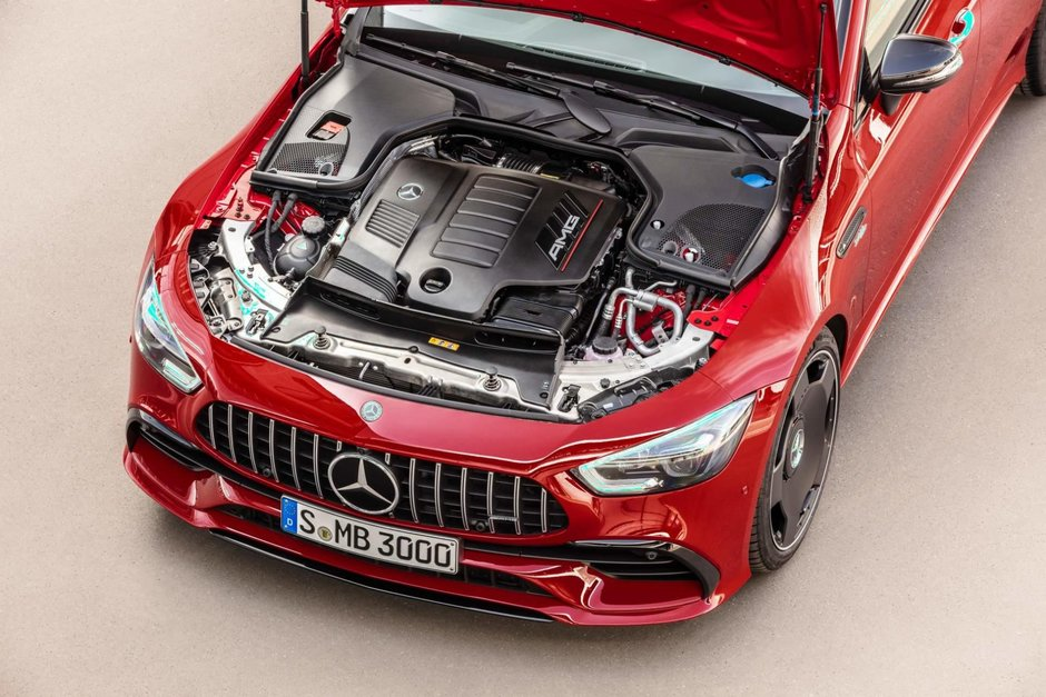 Mercedes-AMG GT 43 4-Door Coupe