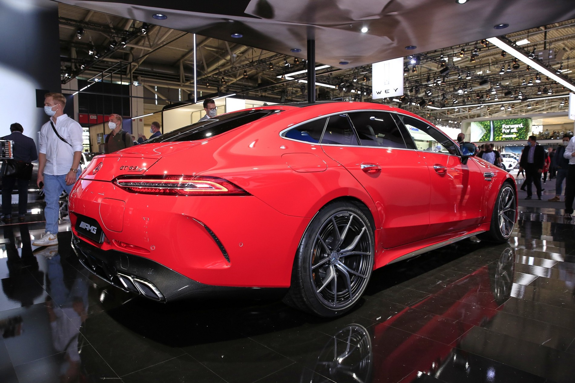 Mercedes-AMG GT 63 S E Performance - Poze reale - Mercedes-AMG GT 63 S E Performance - Poze reale
