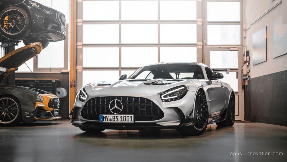Mercedes-AMG GT Black Series de la Opus Automotive - Mercedes-AMG GT Black Series de la Opus Automotive