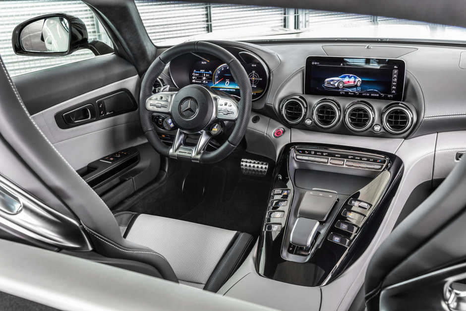 Mercedes-AMG GT facelift