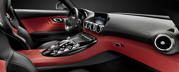Mercedes AMG GT: Iata cum arata interiorul noului supercar din Stuttgart