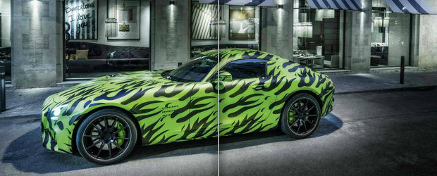 Mercedes AMG GT promite un motor twin-turbo si o cutie DCT