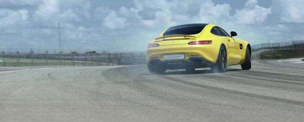 Mercedes AMG GT revine intr-un nou promo, filmat pe Circuitul Americilor