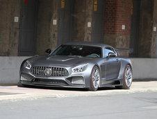 Mercedes AMG GT S de la IMSA