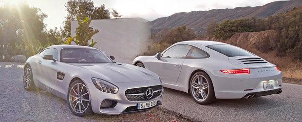 Mercedes AMG GT vs Porsche 911: Ce alegi si de ce?