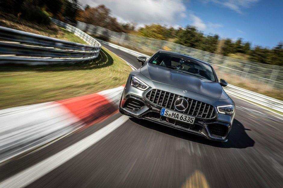 Mercedes-AMG GT63 S record pe Nurburgring