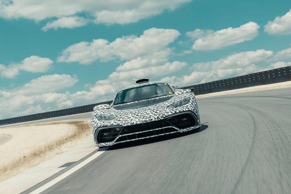 Mercedes AMG One - Poze noi