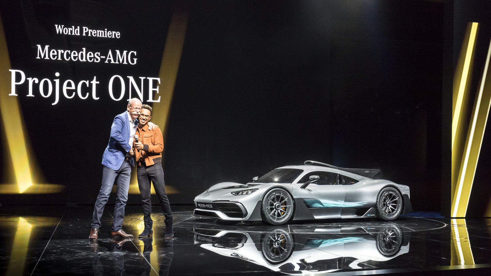 Mercedes AMG Project One - Poze reale - Mercedes AMG Project One - Poze reale