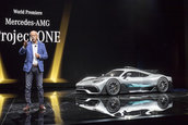 Mercedes AMG Project One - Poze reale