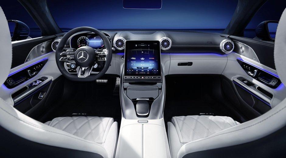 Mercedes-AMG SL - Poze de la interior