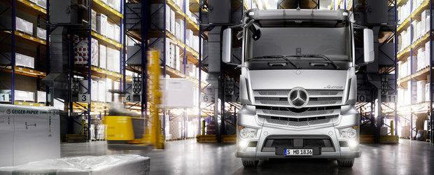 Mercedes Antos - Primul camion destinat transportului de marfuri grele pe distante scurte