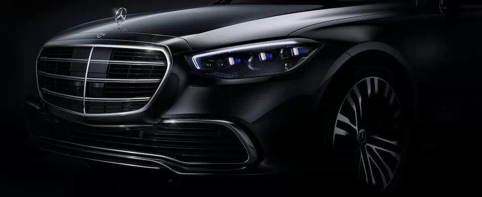 Mercedes anunta intoarcerea REGELUI. Noul S-CLASS va fi primul automobil din lume care ofera aceasta dotare