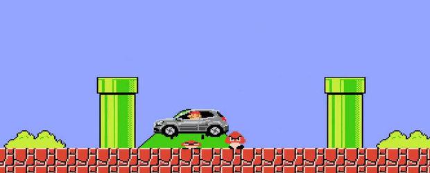 Mercedes apeleaza la Super Mario pentru a promova noul GLA