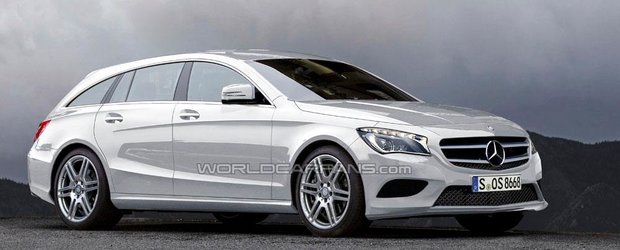 Mercedes ar putea lansa un CLA Shooting Brake