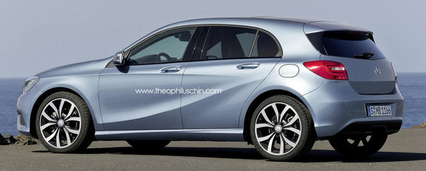 Mercedes ar putea lansa un X-Class, model bazat pe Renault Clio