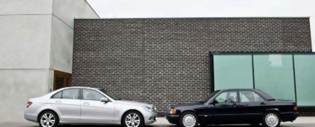 Mercedes-Benz 190D BlueEfficiency - Un Mercedes vechi cu motor nou