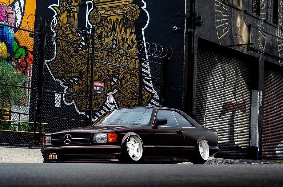 Mercedes-Benz 560 SEC tunat