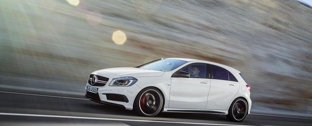 Mercedes-Benz A 45 AMG va veni echipat cu pneuri Dunlop