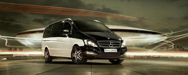 Mercedes-Benz a prezentat la Beijing conceptul Viano VISION DIAMOND