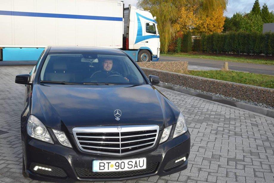 Mercedes-Benz E 200 iubita