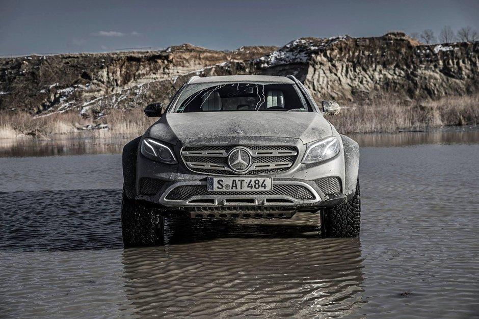 Mercedes-Benz E-Class 4x4 Squared