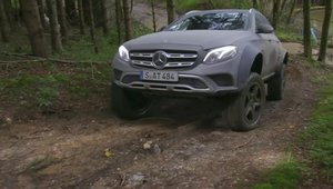 Mercedes-Benz E400 All-Terrain 4x4 Squared- Test Ignition