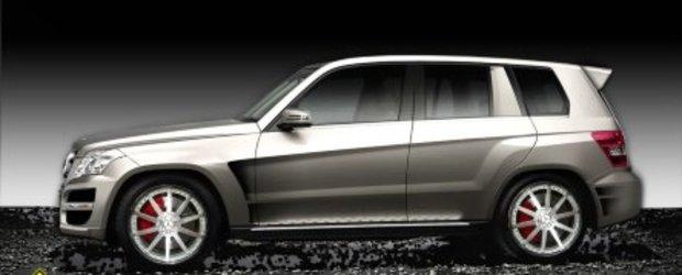 Mercedes-Benz GLK ia cu asalt SEMA