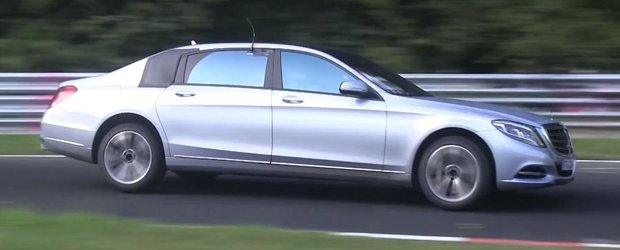 Mercedes-Benz Maybach, spionat in timpul testelor de pe Nurburgring