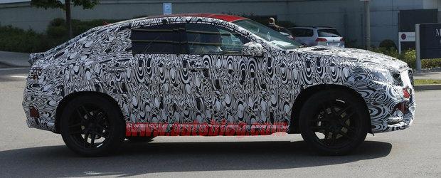 Mercedes-Benz MLC, poze spion cu rivalul lui BMW X6