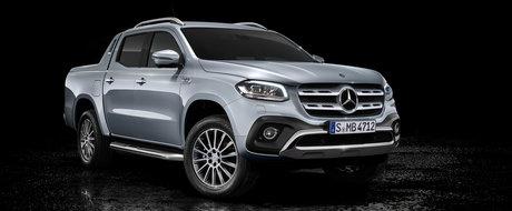 """Mercedes-Benz nu exclude nicio varianta: """"Daca exista cerere, o sa lansam si un X-Class cu motor V8!"""""""